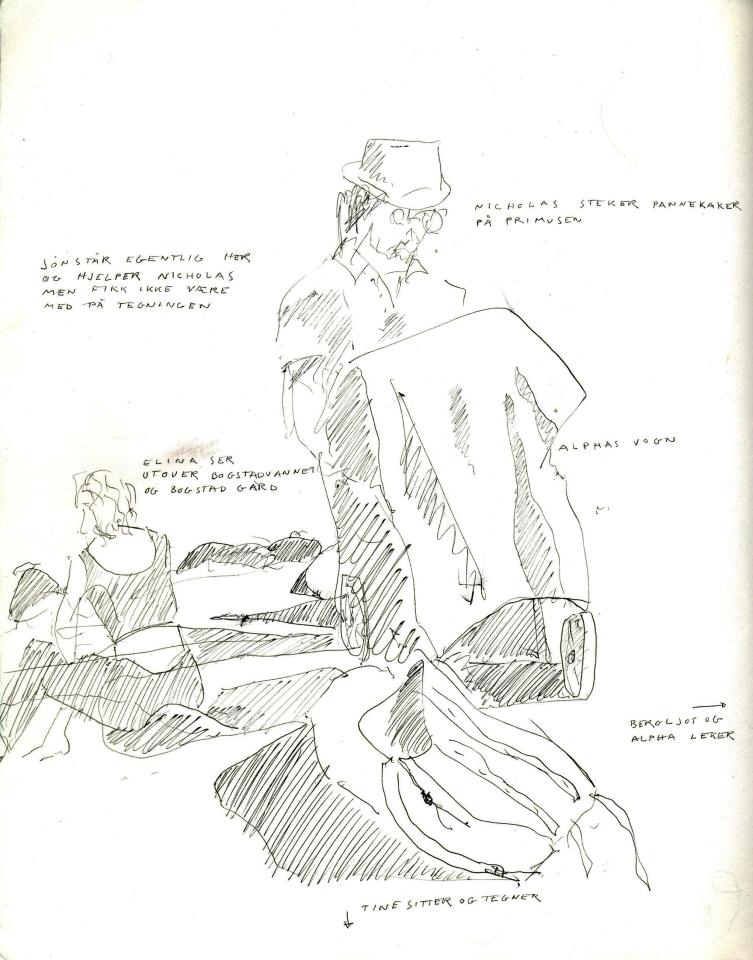Tegning med penn