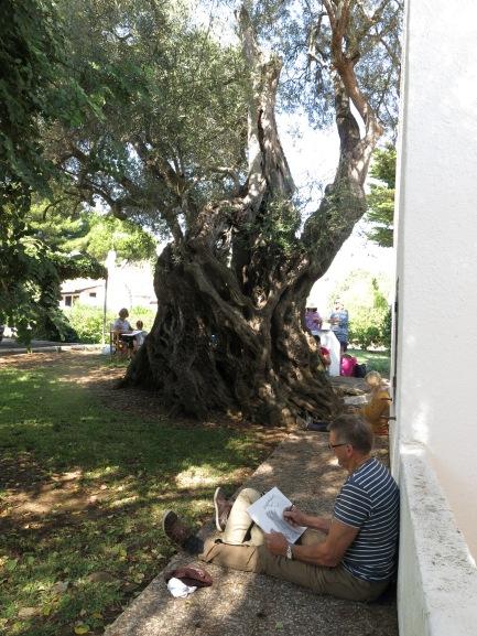 Tine Busk, tegne- og malekurs i utlandet: Portugal