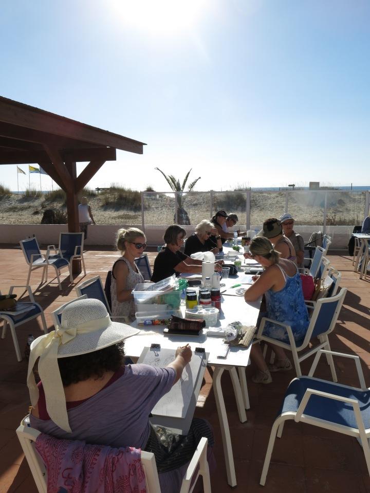 Tine Busk tegne- og malekurs i utlandet: Portugal