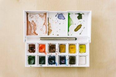 Akvarellskrinet som varer i flere tiår